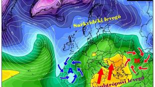 Szubtrópusi levegő érkezik Afrikából jövő héten, 15-16 fok is lehet