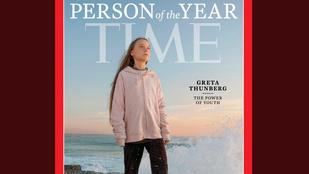 A Time az év emberének választotta a tinédzser környezetvédőt, Greta Thunberget