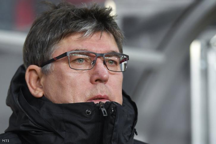 Herczeg András, a Debreceni VSC vezetőedzője