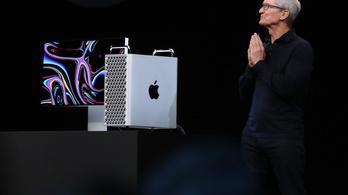 Jó hír karácsony előtt: már előrendelhető az Apple 19 millió forintos csúcsgépe
