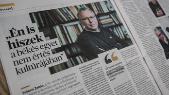 Bencsik Andrással és tévéműsorral érkezett a Pesti Hírlap