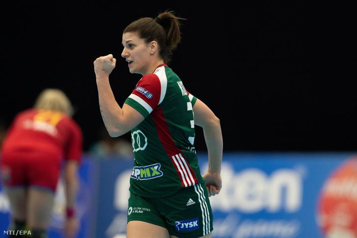 Kovács Anna a Magyarország–Románia mérkőzésen