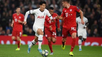 BL: a Bayern megint bedarálta a Tottenhamet, az Atléti magabiztosan ment tovább