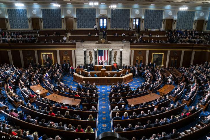 Az amerikai szenátus Washingtonban