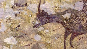 Íme a világ legősibb vadászjelenetét ábrázoló barlangfestménye