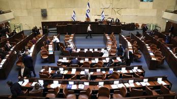 Feloszlatta magát az izraeli parlament, és új választást írt ki