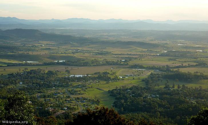 Mount Tamborine térsége