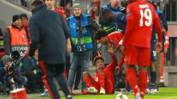 Újra megsérült a Bayern porcelánlábú játékosa