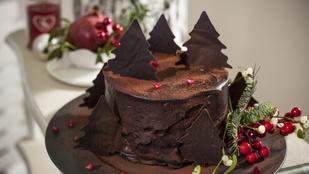 Ír krémlikőrös torta kávés piskótával – ennél elegánsabb desszert az ünnepekre sem kell