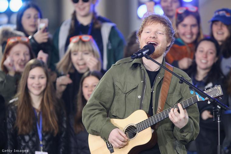 Március 3-án jelent meg Ed Sheeran ÷ című albuma