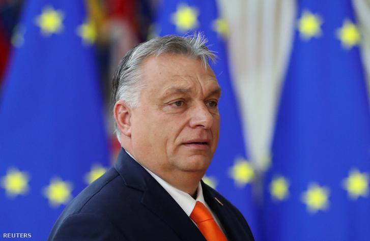Orbán Viktor érkezik a brüsszeli EU-csúcsra 2019. december 12-én.