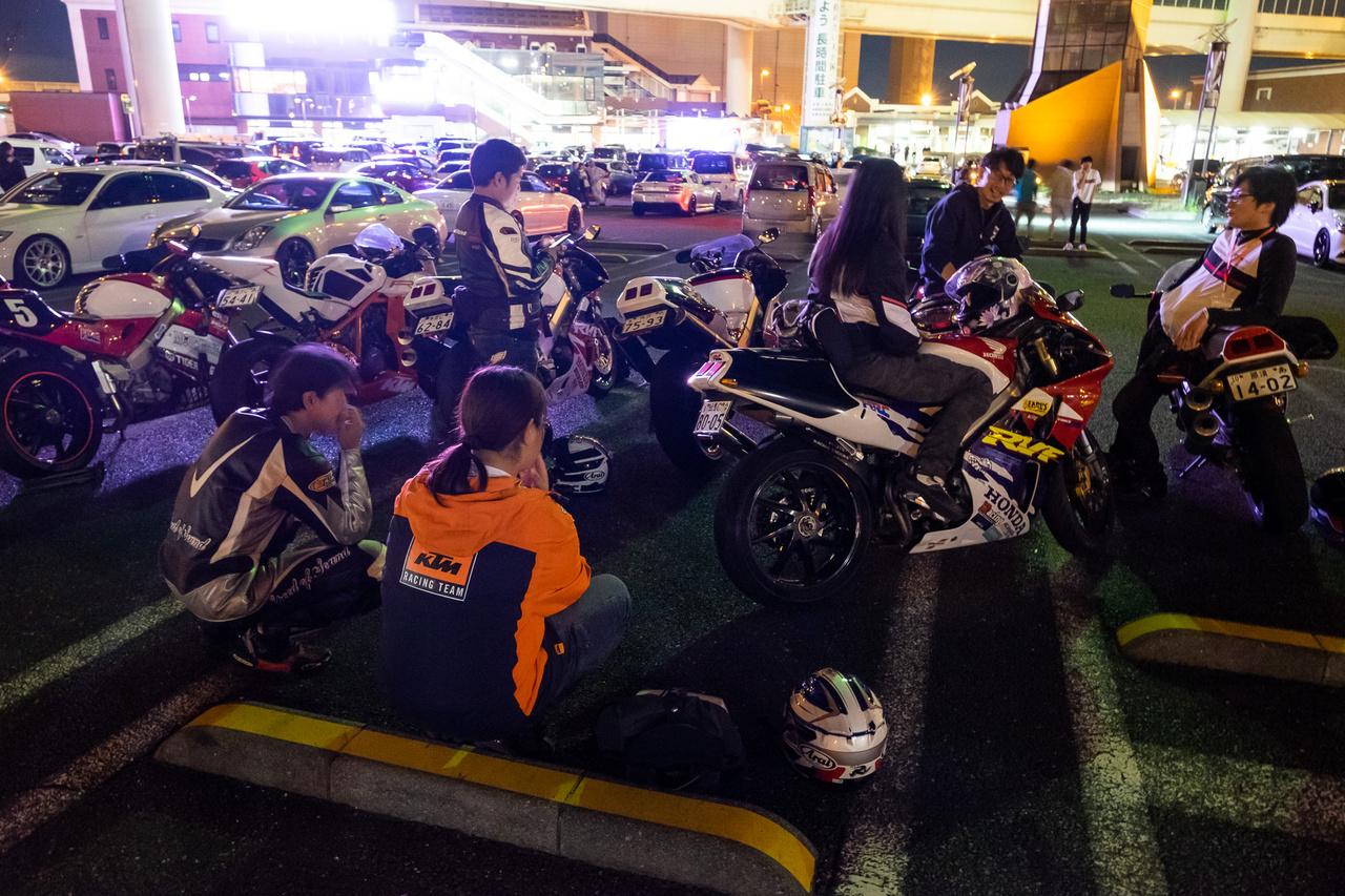 Sok japán vad motoros között egy szem KTM-es