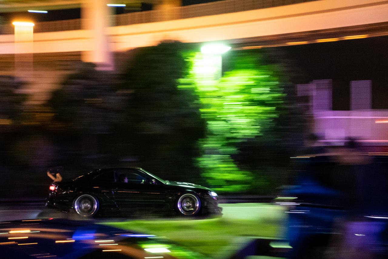 Nissan Silvia érkezik a buli végére