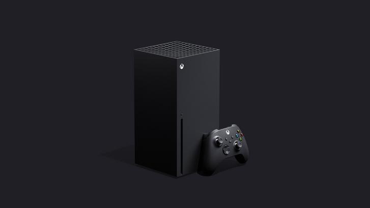 Az új Microsoft Xbox Series X.
