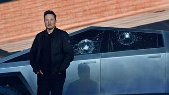 Lézerrel törölne szélvédőt Elon Musk