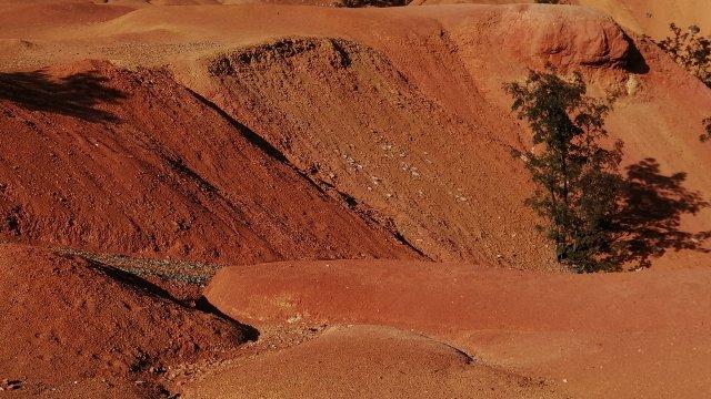 Expedíció a Marsra, avagy a gánti bauxitbánya