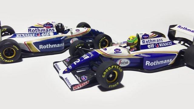 Matricázás: Williams FW16