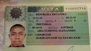 Érvényes vízumuk volt a Boszniába toloncolt nigériai sportolóknak
