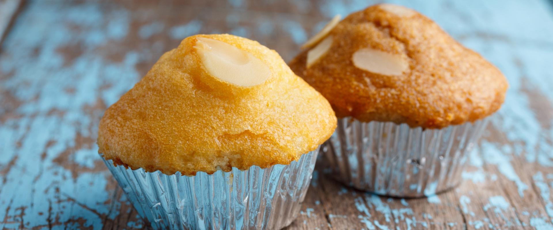 mandula muffin