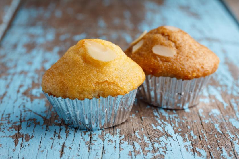 mandula muffin recept