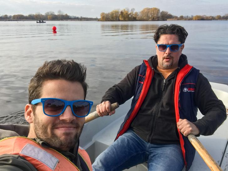 Ha megkérdezi tőlem Magyarország Köztársaság elnöke, hogy csónakáztam-e már Antival télen, akkor foghegyről vetem oda: persze