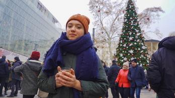 Így karácsonyozik a lány, aki nem termel szemetet