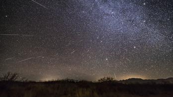 Szombaton tetőzik a legszaporább meteorraj, a Geminidák