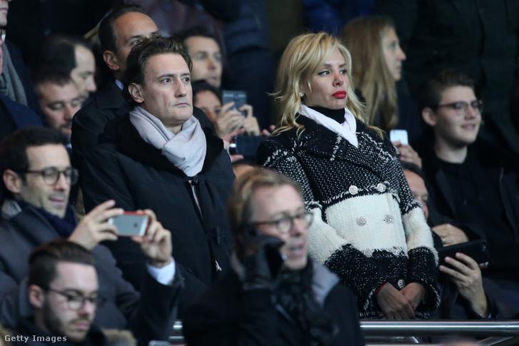Kiril Domuszcsiev feleségével
