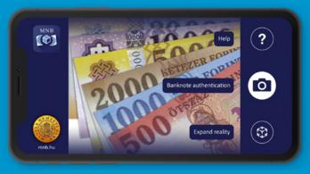 Bankjegyellenőrző applikációt dobott piacra a Magyar Nemzeti Bank