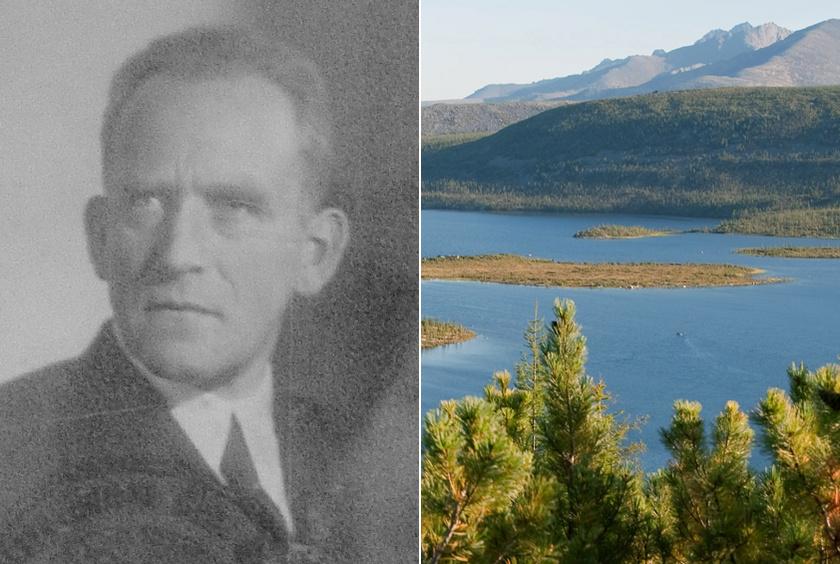 Jurij Bilibin geológus, a vidék tanulmányozója.
