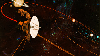 NASA: a Voyager-1 elhagyta a Naprendszert