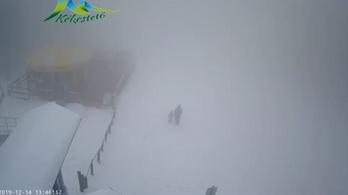 Havazik a Kékestetőn