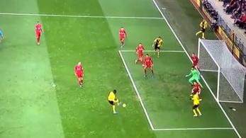 Szalah duplázott a Liverpoolban, de mit művelt az ellenfél?