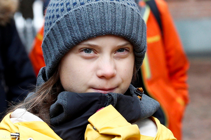Greta Thunberg 2019. december 13-án.