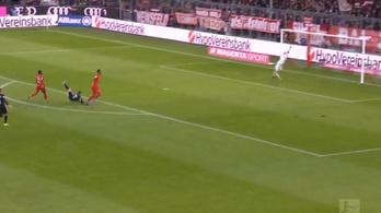 A Werder óriási gólt lőtt a Bayernnek, aztán kapott egy hatost