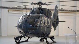 Szolnokon a négy H145M könnyű helikopter