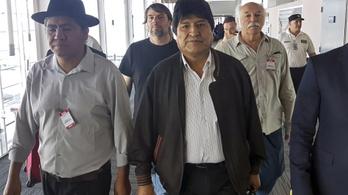 Bolívia elfogatóparancsot ad ki Evo Morales ellen