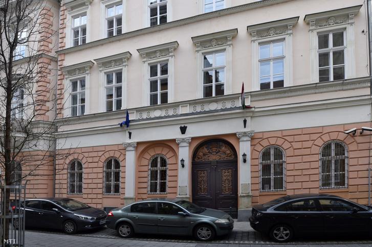 A Nemzeti Kulturális Alap (NKA) és az Emberi Erőforrás Támogatáskezelő épülete a VIII. kerületben