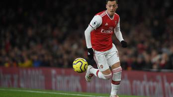 Özil miatt törölte műsoráról a kínai tévé az Arsenal–ManCity-meccset