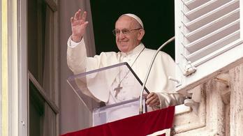 Ferenc pápa beszédében megemlítette a budapesti Eucharisztikus Kongresszust