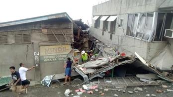 Többen meghaltak, köztük egy 6 éves kislány is életét vesztette egy fülöp-szigeteki földrengésben