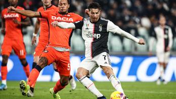 Ronaldo duplázott, simán nyert a Juventus