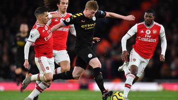 De Bruyne elsöpörte az Arsenalt