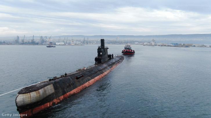 Szovjet gyártmányú tengeralattjáró. Képünk illusztráció!