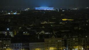 Büszkeségből nem kapcsolják le a Puskás Aréna kivilágítását akkor sem, ha nincs benne rendezvény
