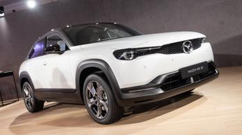 Menetpróba: Mazda MX-30 vezetés-szerűség – 2019.