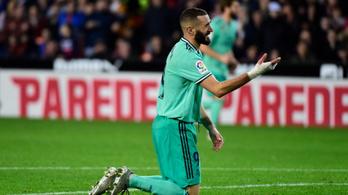 A Real Madrid őrült jelenet végén egyenlített a 95. percben