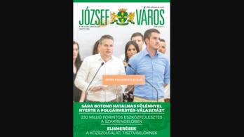 A józsefvárosi önkormányzati újságot fideszes politikusokkal egyeztették megjelenés előtt