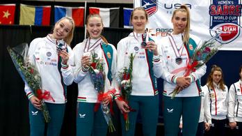 Második lett Amerikában, olimpiai kvótás helyen a női kardcsapat
