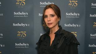 Az év legviccesebb karácsonyfadíszének járó díjat Victoria Beckham nyerte